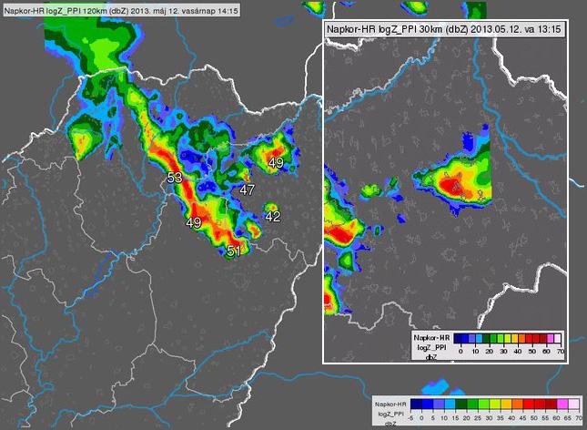 tornádó térkép magyarország Új videók a nyírségi tornádóról tornádó térkép magyarország