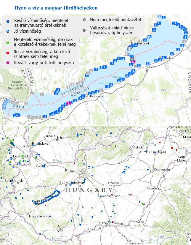 balaton szabadstrandok térkép Csodás a Balaton vize balaton szabadstrandok térkép