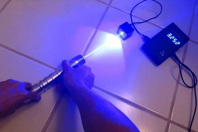 Как в домашних условиях сделать мощный лазер 217