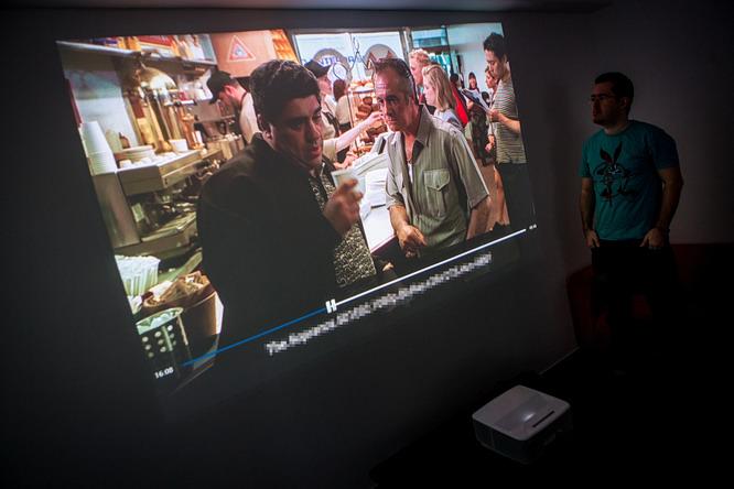 Screeneo - (extra) rövid vetítési távolságú projektor otthonra