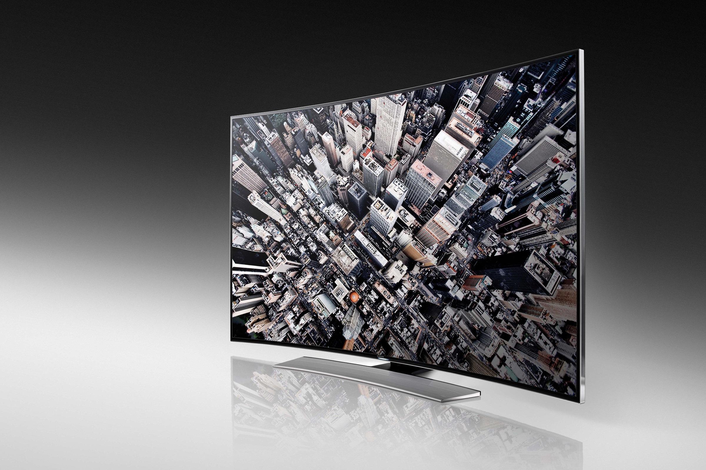 Samsung görbe tévék görbe estékre