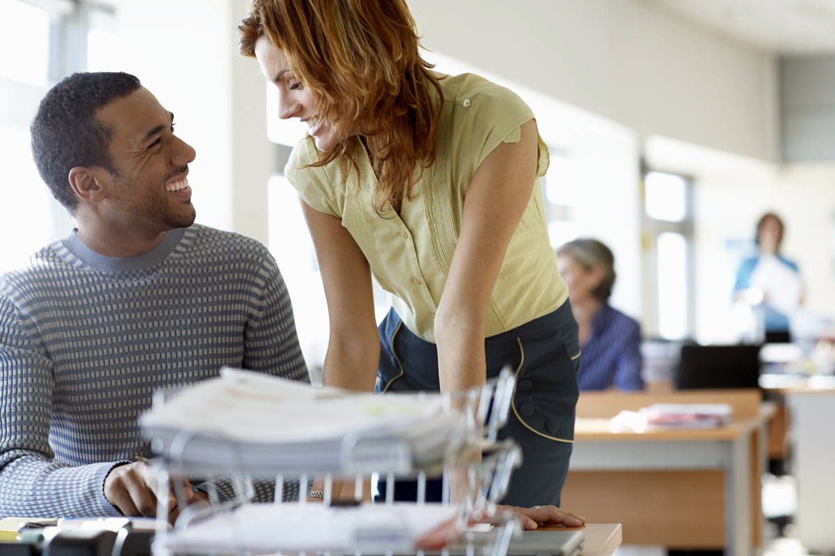 Workplace Dating Relationships Result In Marriage