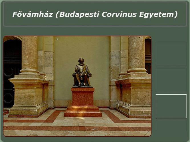 Új helyére került a Budapesti Corvinus Egyetemen a Marx-szobor