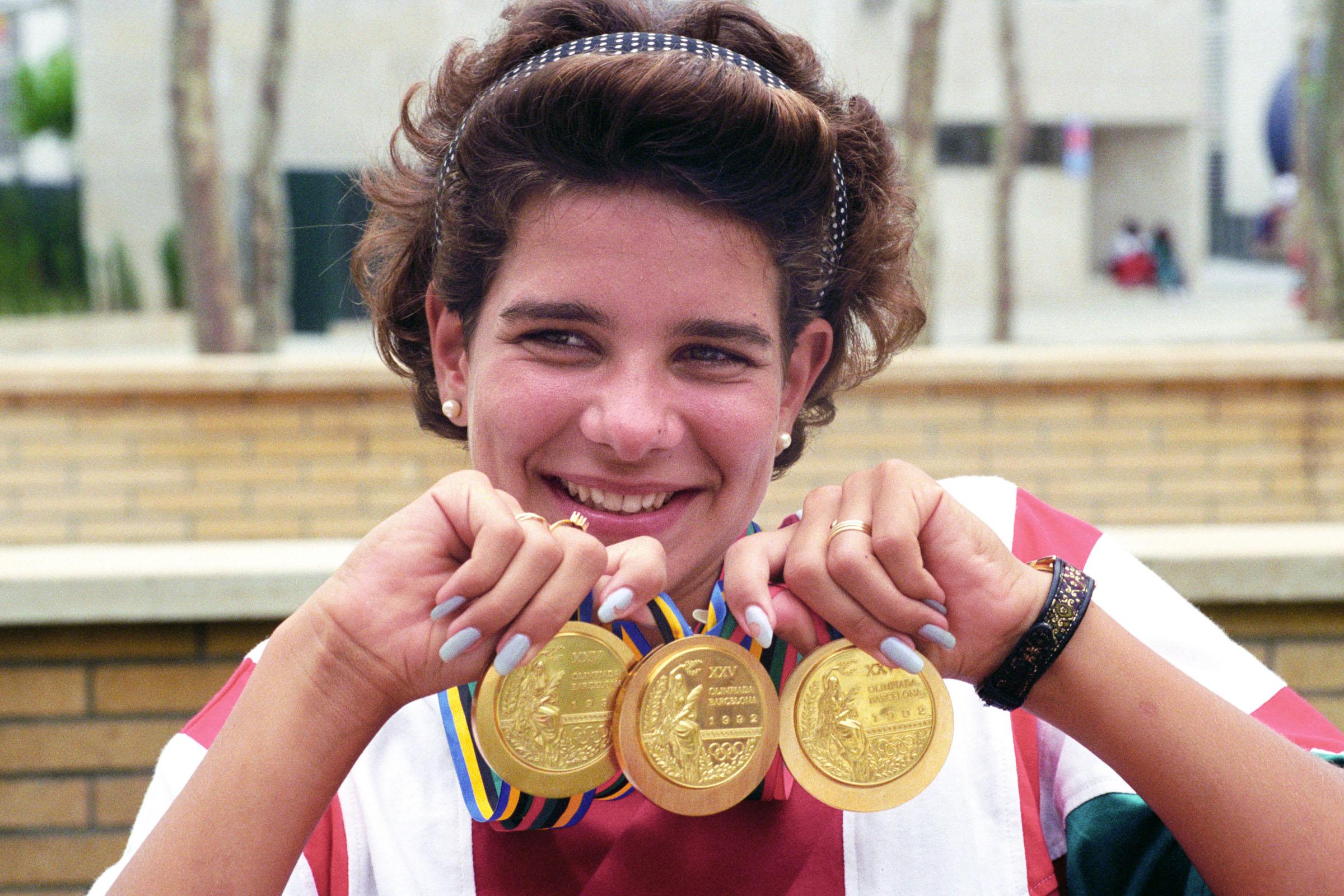 Krisztina Egerszegi 7 Olympic medals