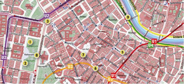 bécs belváros térkép Megjelent Bécs vécétérképe bécs belváros térkép