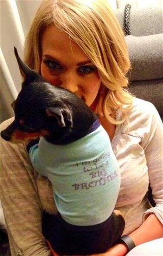 Forr�s: Twitter/Carrie Underwood