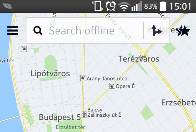 magyarország térkép nokiára Androidon is segít spórolni a Nokia térképe magyarország térkép nokiára