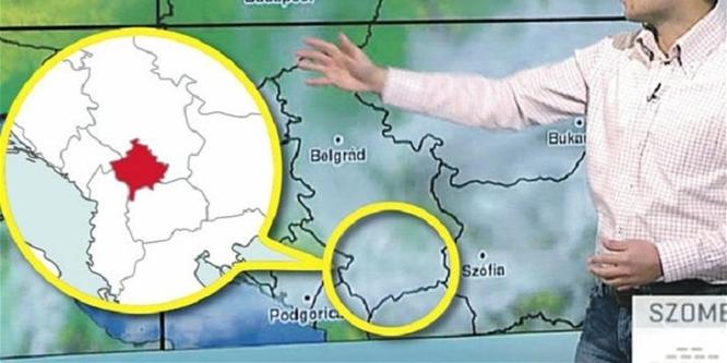Rossz térképet használtak a köztévé reggeli m�sorában