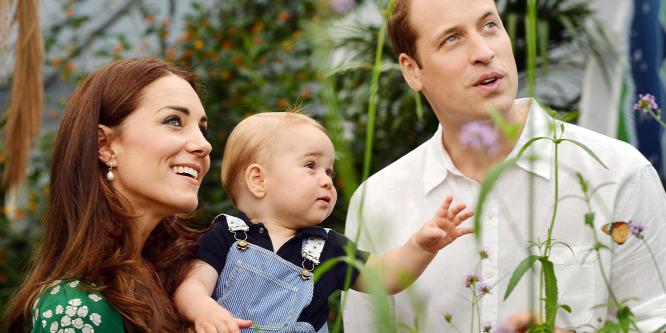 György herceg a legstílusosabb fiú baba 2014-ben