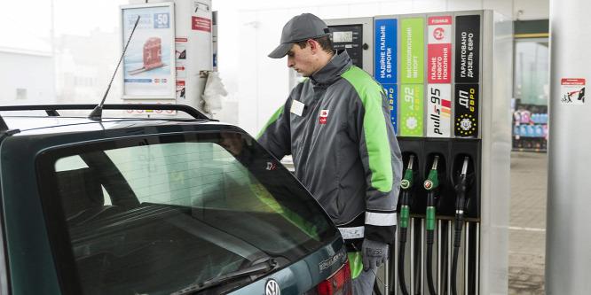 Utoléri a benzin ára a gázolajét