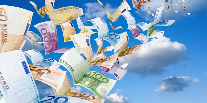 54 havi csúcson az euróövezet növekedése