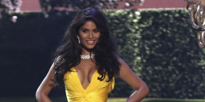 A Miss Universe dönt�jén kevesebb comb villant, mint gondoltuk