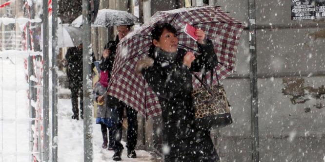 Becsapta a meteorológusokat a hétvégi havazás