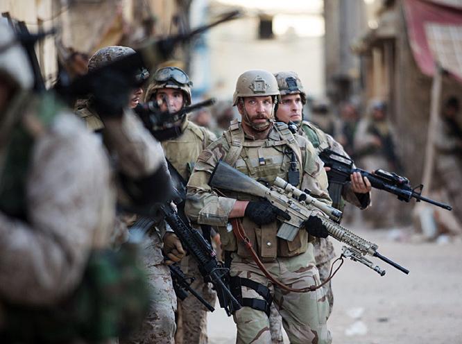 Amerikai katonák a filmben.