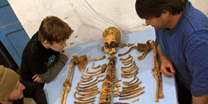 Lélekvándorló csontvázakra bukkantak