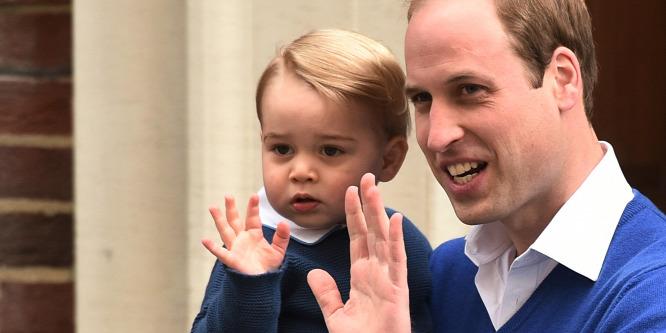 Még egy dologban apjára üt György herceg