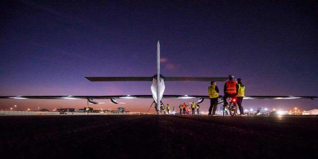 Forr�s: C Solar Impulse