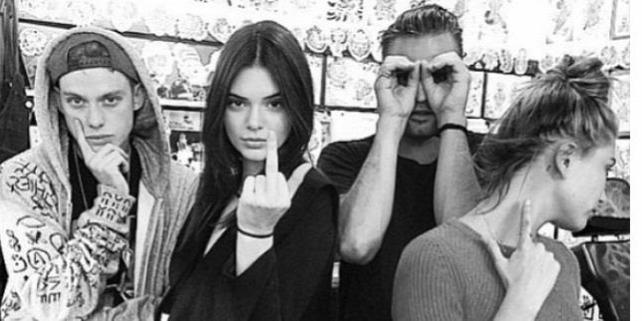 Forr�s: Kendall Jenner Instagram-oldala