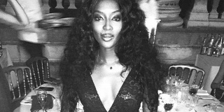 Forr�s: Instagram/Naomi Campbell