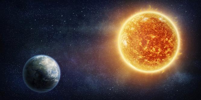 2017. október 26-án 20:10-kor tetőzik a Nap és a Jupiter együttállása