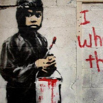 Forr�s: bbc.com/ Banksy