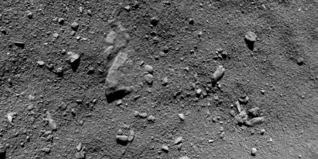 Forr�s: ESA/Rosetta/Philae/ROLIS/DLR