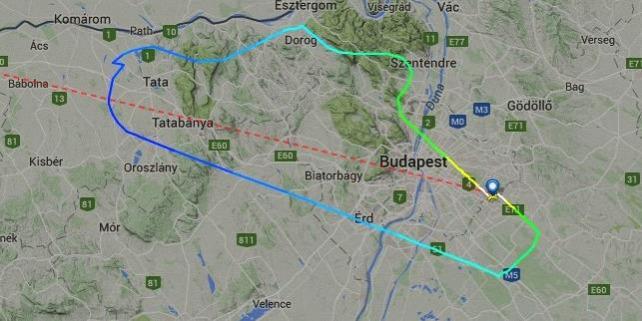 Forr�s: Flightradar24.com