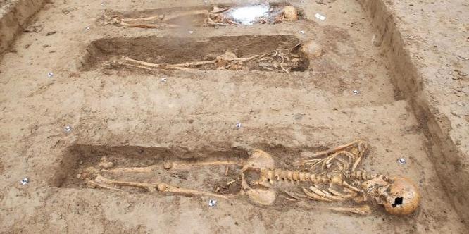 Napóleon 200 katonájának sírjára bukkantak