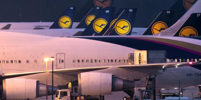 Vigyázzon, aki Lufthansával repül