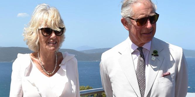Sosem látott kép Károly hercegr�l és Camilla hercegnér�l