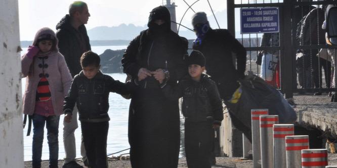 Naponta 500 migránst tart vissza Törökország