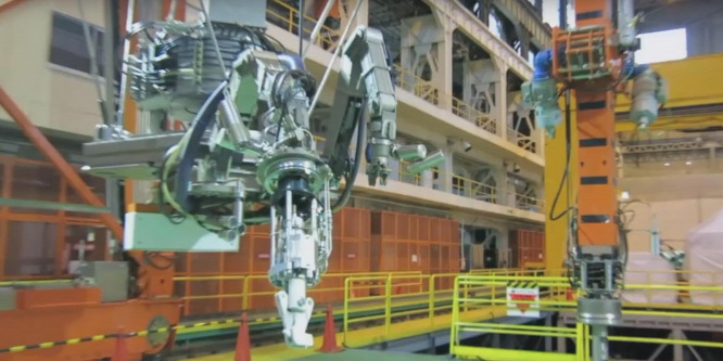 Ez a robot rak rendet Fukusimában
