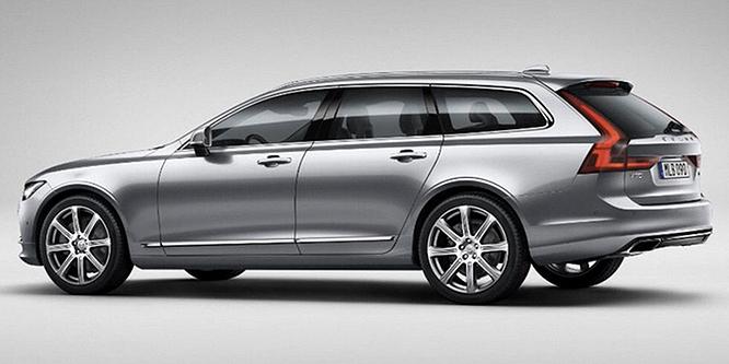 A Volvo megmutatja, milyen egy igazán dögös kombi