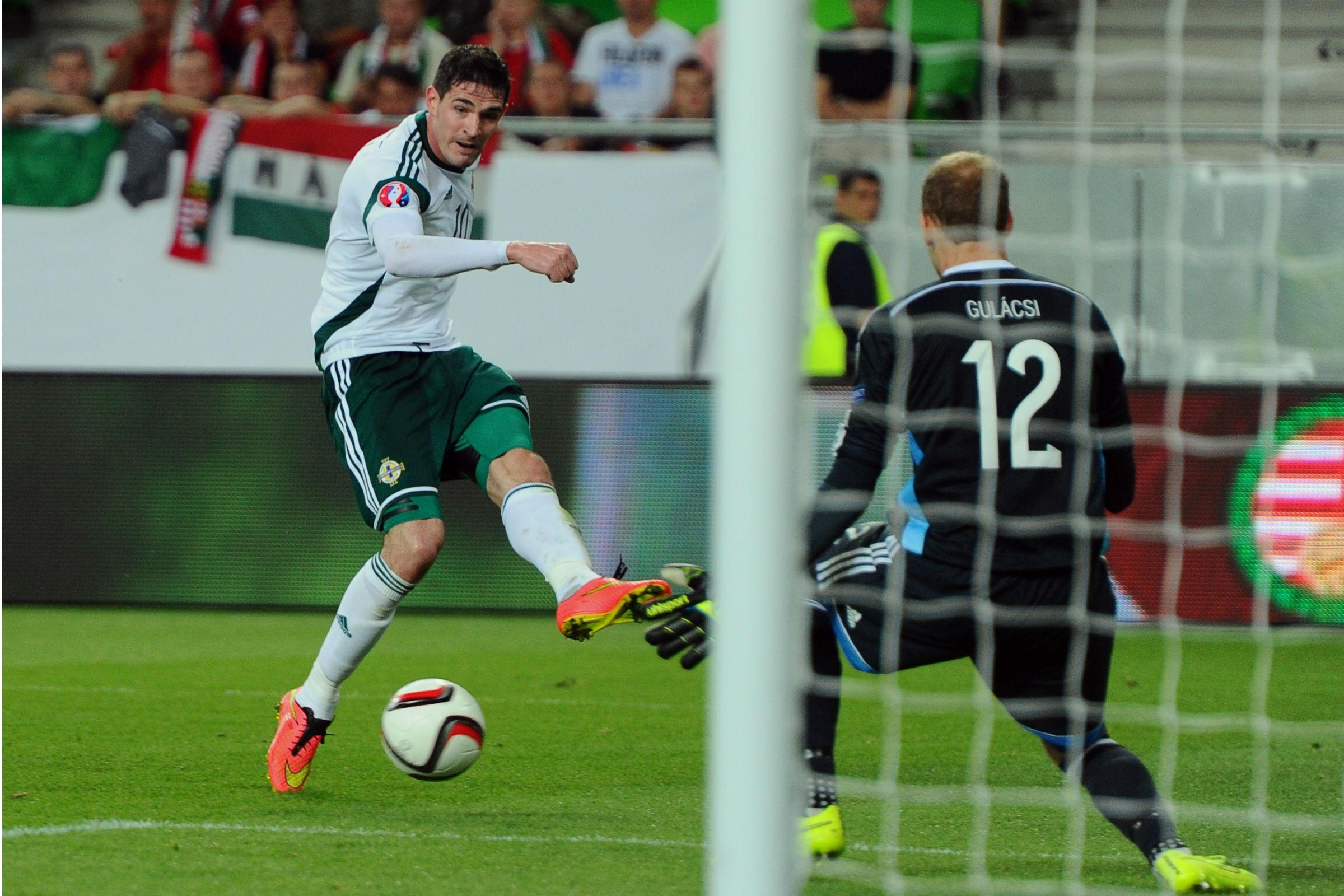 Lafferty számára még mindig a magyarok elleni meccs az etalon