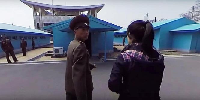 Különleges videó készült az észak-koreai határon
