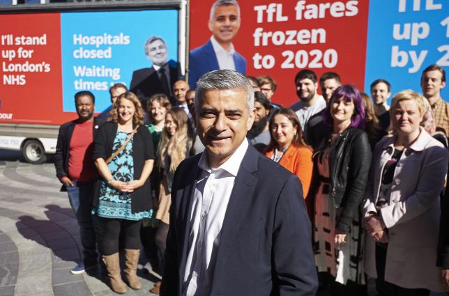 Muszlim vagyok, pakisztáni vagyok, London polgármestere vagyok