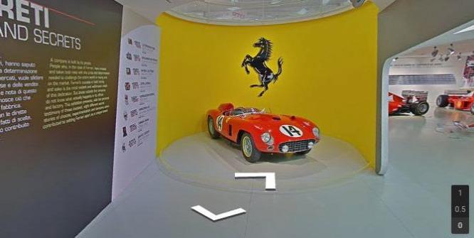 Már otthonról is bejárhatóak a Ferrari múzeumai