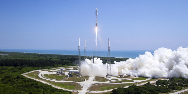 Forr�s: AFP/United Launch Alliance