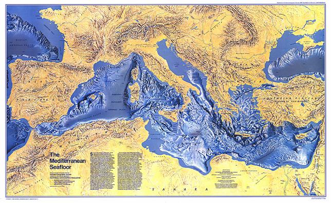 földközi tenger térkép Milyen a Földközi tenger mélye ott, ahol eltűnt az egyiptomi gép? földközi tenger térkép