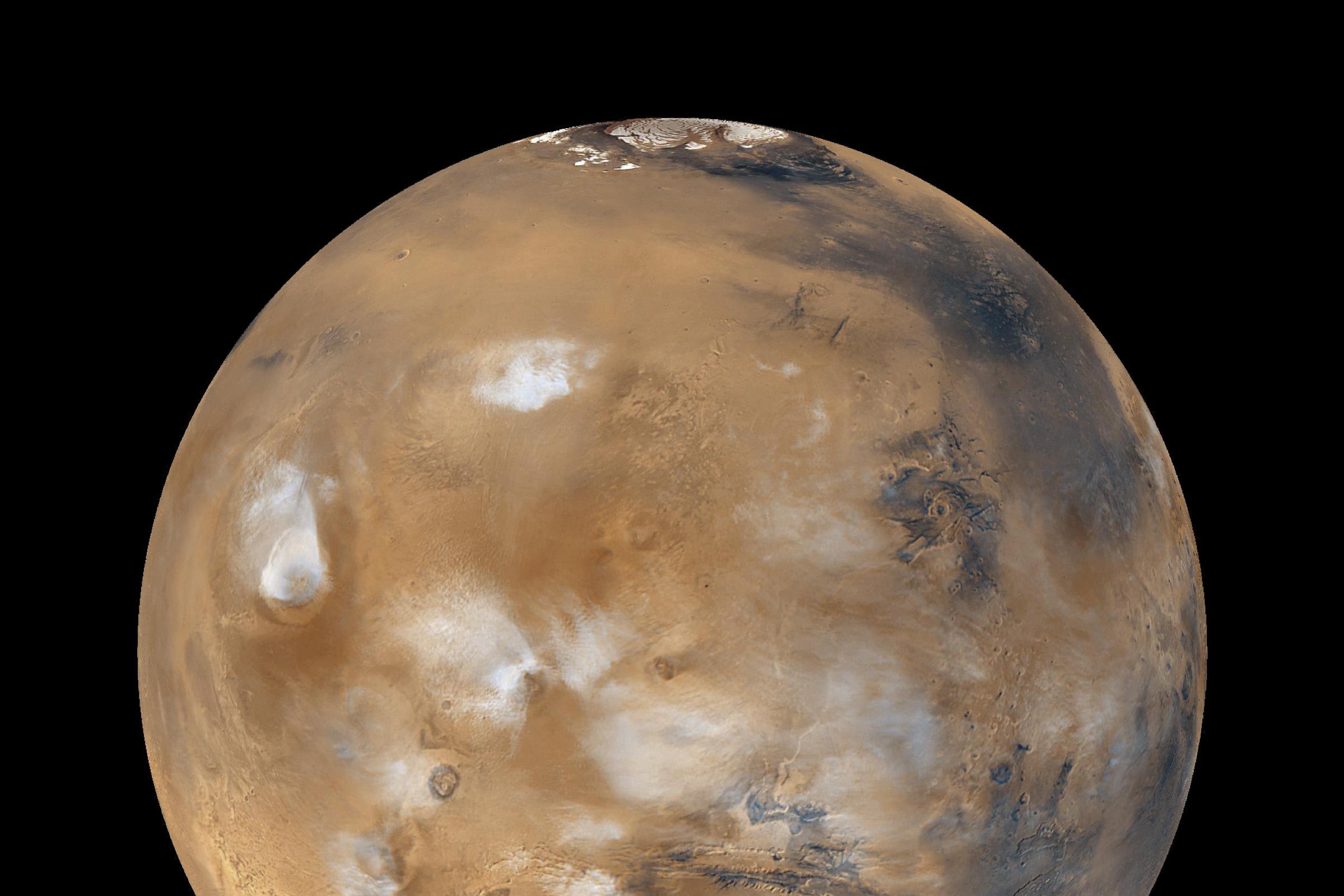 120,7 millió kilométerre haladt el a Mars a Földtõl