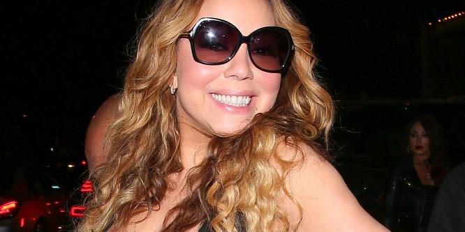 Kínos! Mariah Carey mellbimbója utat tört magának - Fotó!