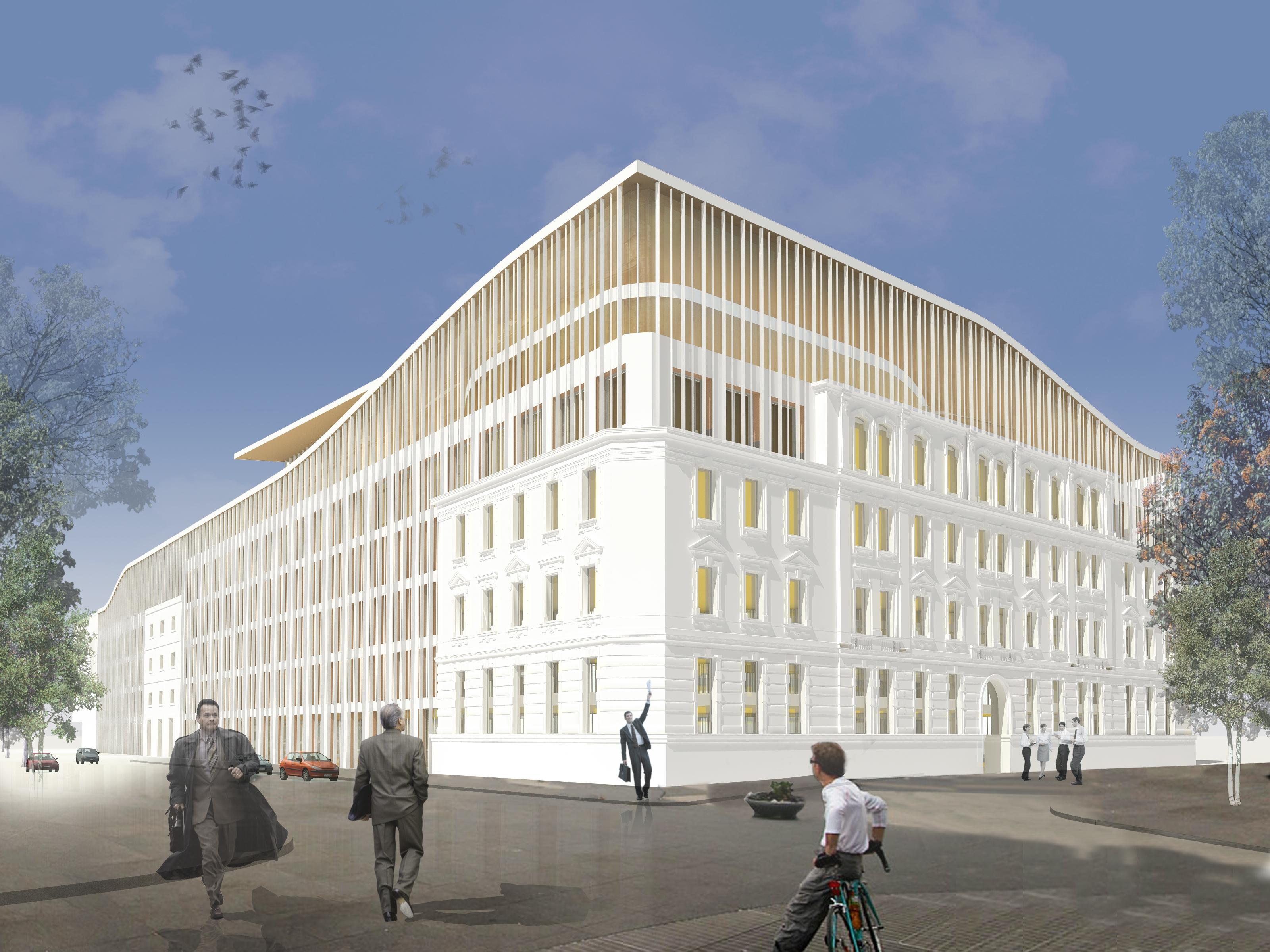 Óriási irodakomplexumot építenek a Bem téren