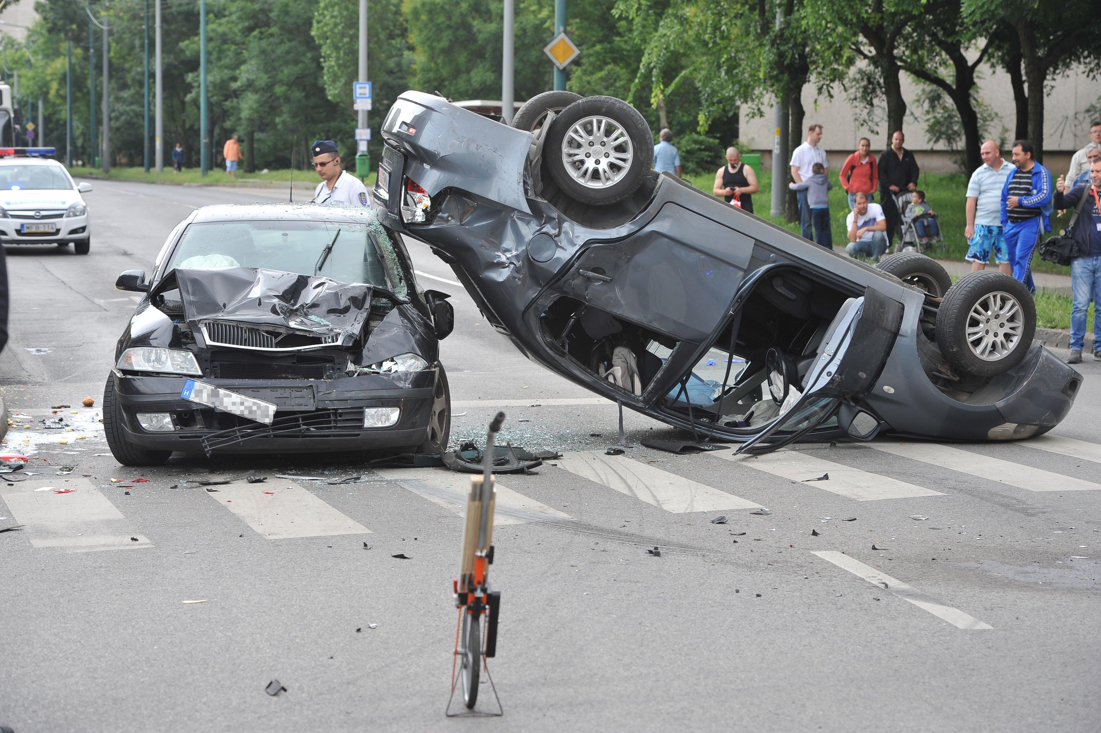 Szentmihályi út baleset