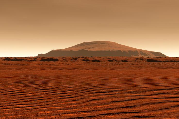 Tudja, melyik a legmagasabb hegy a Naprendszerben?