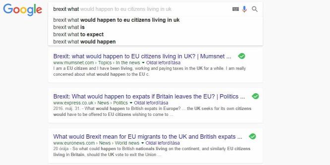 A szavazás után se tudták, mit jelent a brexit