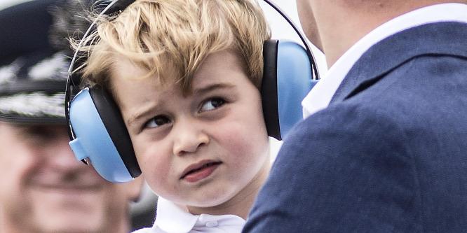 Elképeszt� titok szivárgott ki a kis György hercegr�l