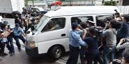 Forr�s: AFP/Yomiuri/Kento Oishi