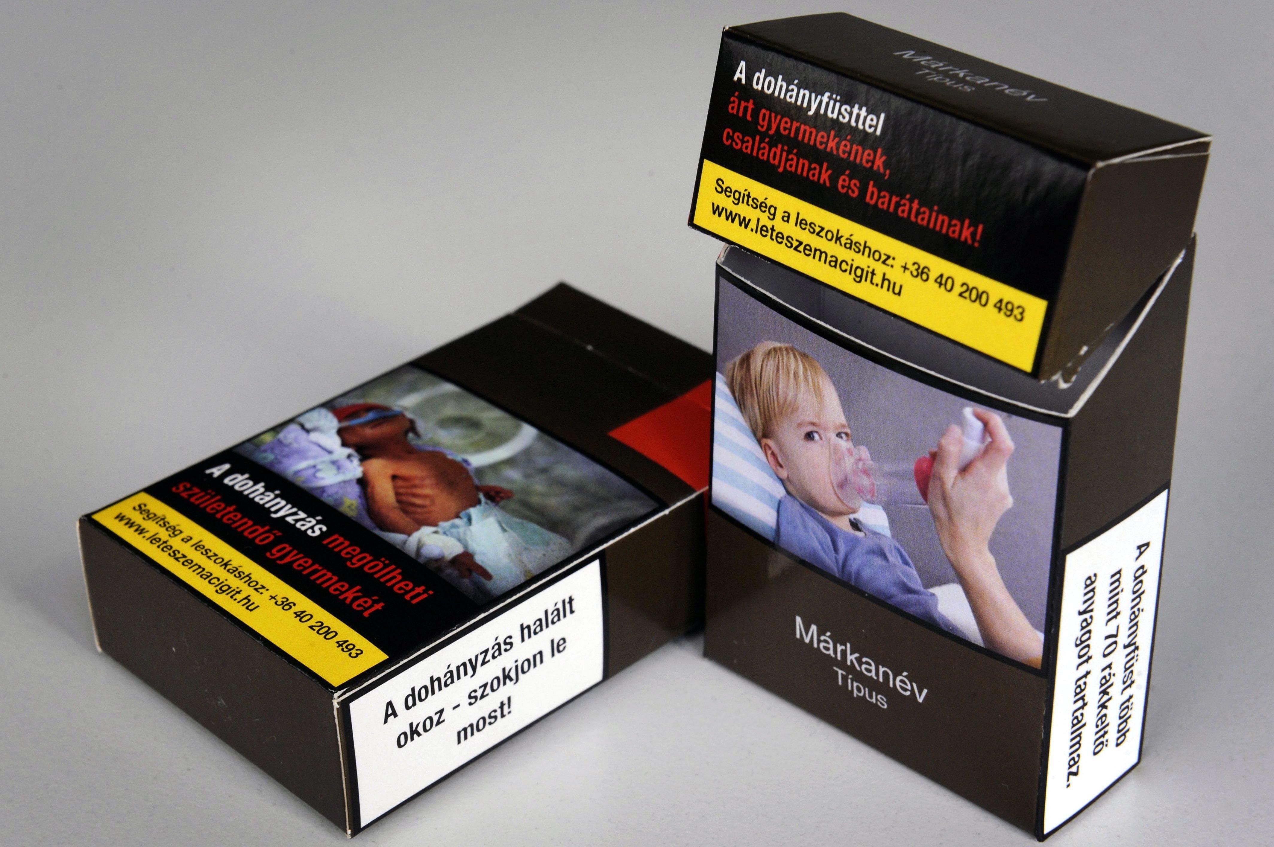 Egységes cigisdoboz