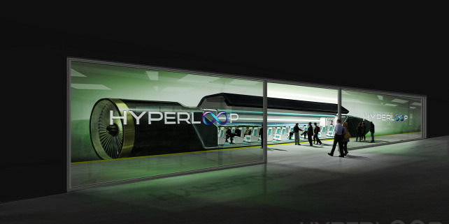Forrás: Hyperloop One