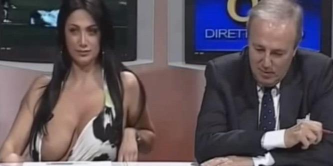 Él� adásban villantott a szexi m�sorvezet� – Videó!